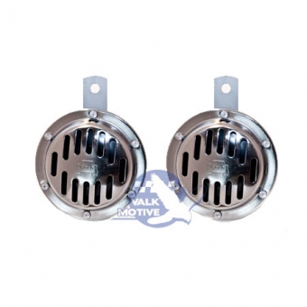 Wolo Deluxe chrome Twin set