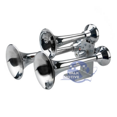 Wolo Siberian Express Train horn chrome 24V